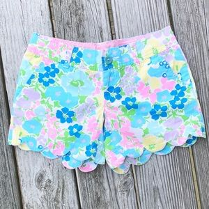 Lilly Pulitzer Spring Fling Buttercup Shorts